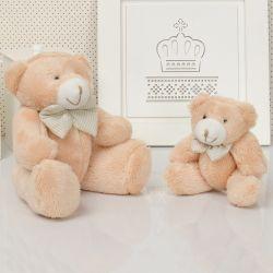 Família Urso Caramelo com Gravata
