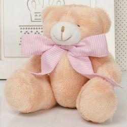 Ursa Caramelo com Laço 22cm
