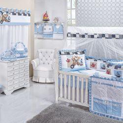Quarto para Bebê sem Cama Babá Ursinho Navegador
