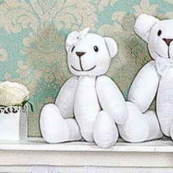 Urso Fofinho Clean 37cm