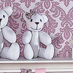 Urso Fofinho Delicate 37cm