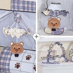 Kit Acessórios Urso Nino