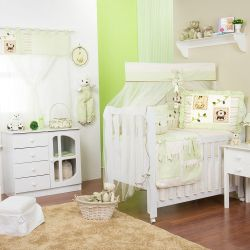 Quarto para Bebê sem Cama Babá Bichinhos Baby