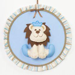 Porta Maternidade Leão Majestoso