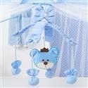 Móbile Urso Realeza Azul