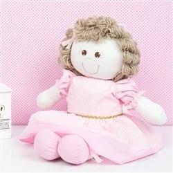 Boneca Princesa Laura Rosa