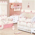 Quarto para Bebê Provençal Palha