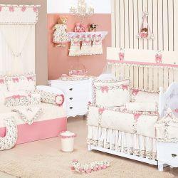 Quarto de Bebê Provençal Palha