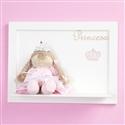 Quadro Decorativo Boneca Princesa