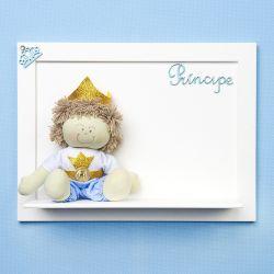 Porta Maternidade Boneco Príncipe Azul
