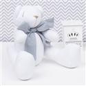 Urso Branco Gravata Chumbo M