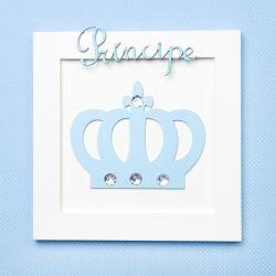 Quadro Príncipe Azul Bebê