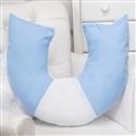 Almofada para Amamentação Luxo Azul