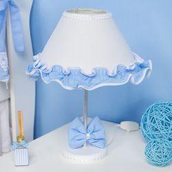 Abajur Luxo Azul