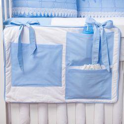 Porta Treco Luxo Azul