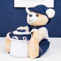 Urso Porta Cotonete Willian
