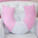 Almofada para Amamentação Luxo Rosa