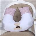 Almofada para Amamentação Ursinha Rosa