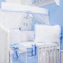 Kit Berço Dengo Azul