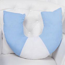 Almofada Amamentação Dengo Azul