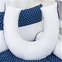 Almofada para Amamentação Blue Boat