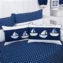 Almofadas Decorativas Barquinhos Blue Boat