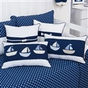 Almofadas Decorativas Blue Boat