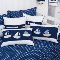 Almofadas Blue Boat 4 Peças