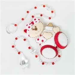 Pêndulos Ursa Baby Vermelha