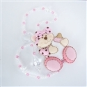 Pêndulos Ursa Baby Rosa