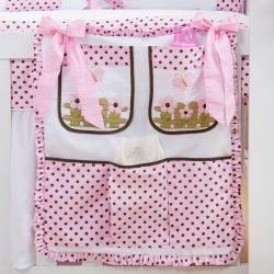 Porta Treco Ursa Baby Rosa