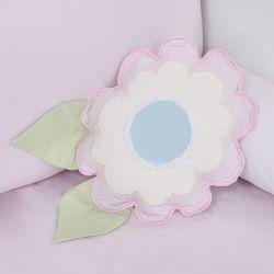 Almofada Decorativa em Formato de Flor Encanto 35cm