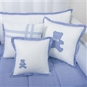 Almofadas Decorativas Sweet Bear Azul