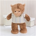 Enfeite Macaco Selva Baby Bege