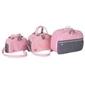 Conjunto de Bolsas Maternidade Classic Rosa
