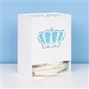 Porta Fraldas Belly Coroa Azul
