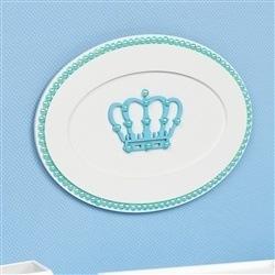 Quadro Decorativo Belly Coroa Azul
