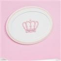 Quadro Decorativo Belly Coroa Rosa