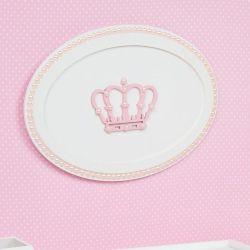 Quadro Belly Coroa Rosa