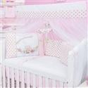 Kit Berço Primavera Baby Rosa