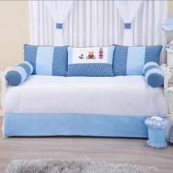 Kit Cama Babá Guto Azul
