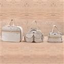 Conjunto de Bolsas Maternidade Requinte Palha