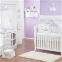 Quarto para Bebê Sem Cama Babá Primavera Baby Lilás