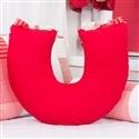 Almofada para Amamentação Borboletas Vermelha