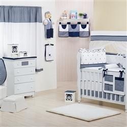 Quarto para Bebê sem Cama Babá Provençal