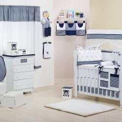 Quarto de Bebê sem Cama Babá Provençal