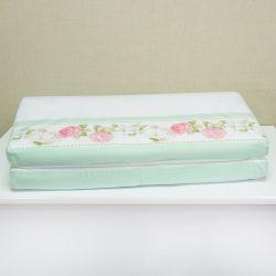 Trocador de Fraldas Bouquet Rosa