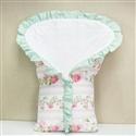Porta Bebê Bouquet Rosa