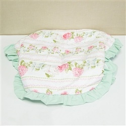 Capa de Bebê Conforto Bouquet Rosa
