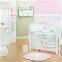 Quarto para Bebê sem Cama Babá Bouquet Rosa